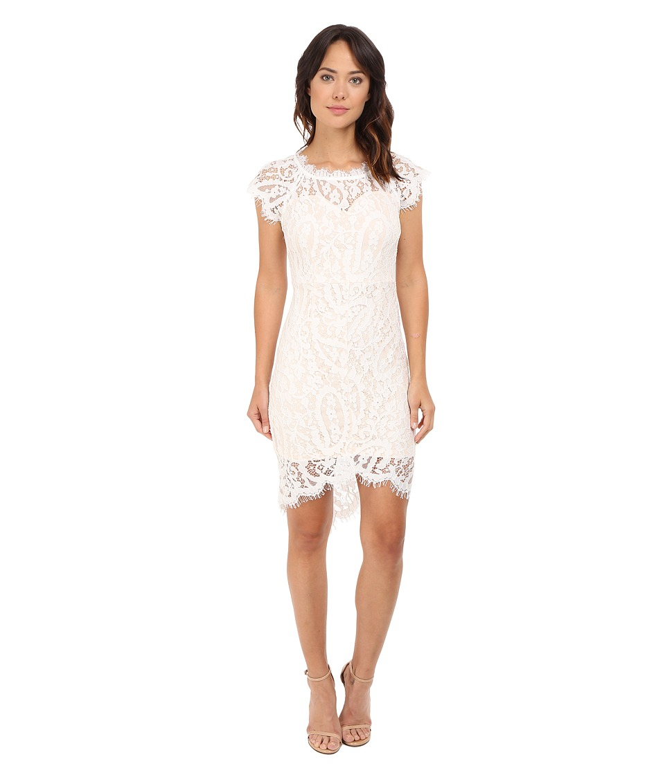Brigitte Bailey - Abella Lace Bodycon Dress (White) Women's Dress