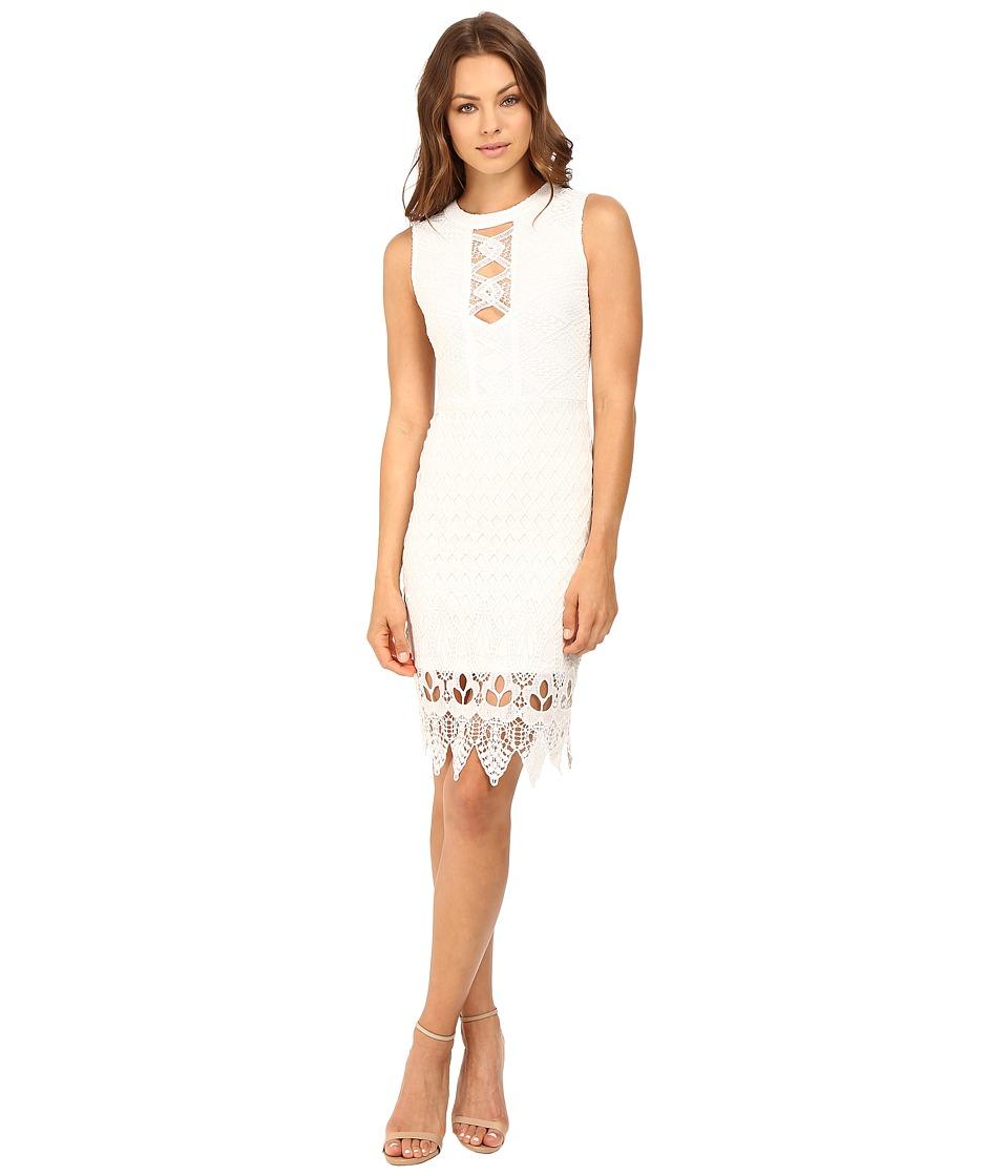 Brigitte Bailey - Aislin High Neck Dress (Ivory) Women's Dress