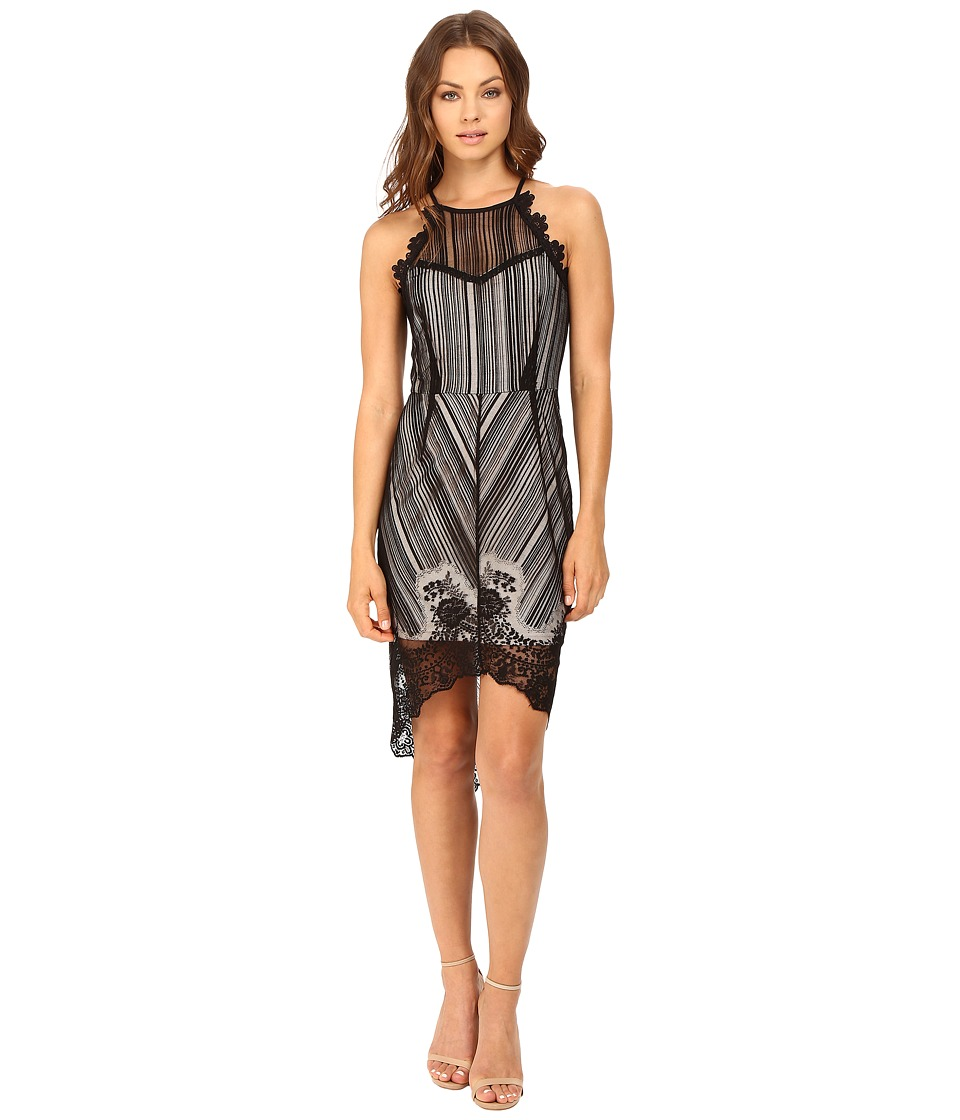 Brigitte Bailey - Alistair Lace Dress (Black) Women's Dress