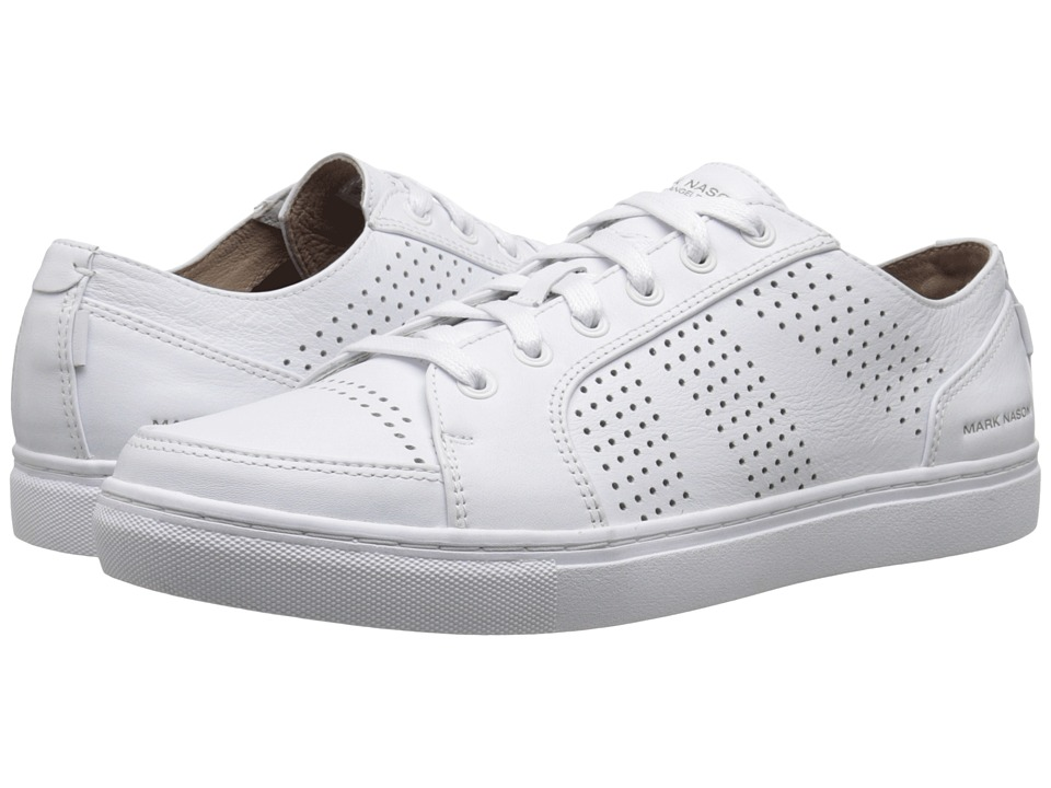 Mark Nason - Crocker (White Leather/White Bottom) Men