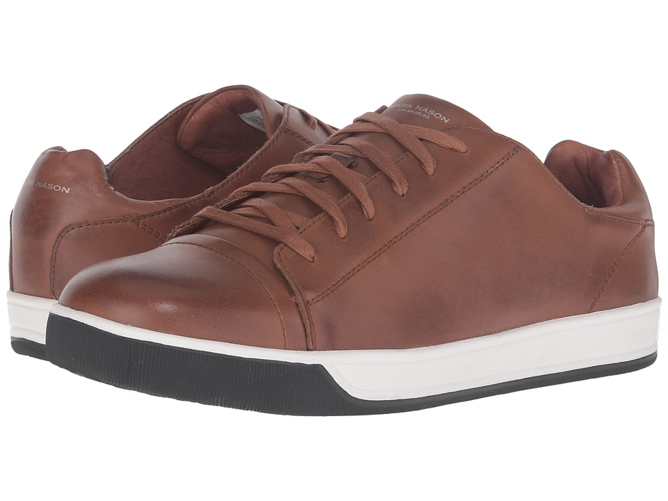 Mark Nason - Shaver (Cognac Leather) Men's Lace up casual Shoes