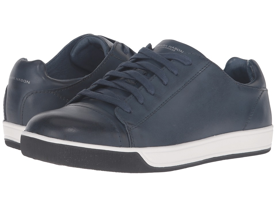 Mark Nason - Shaver (Navy Leather) Men's Lace up casual Shoes