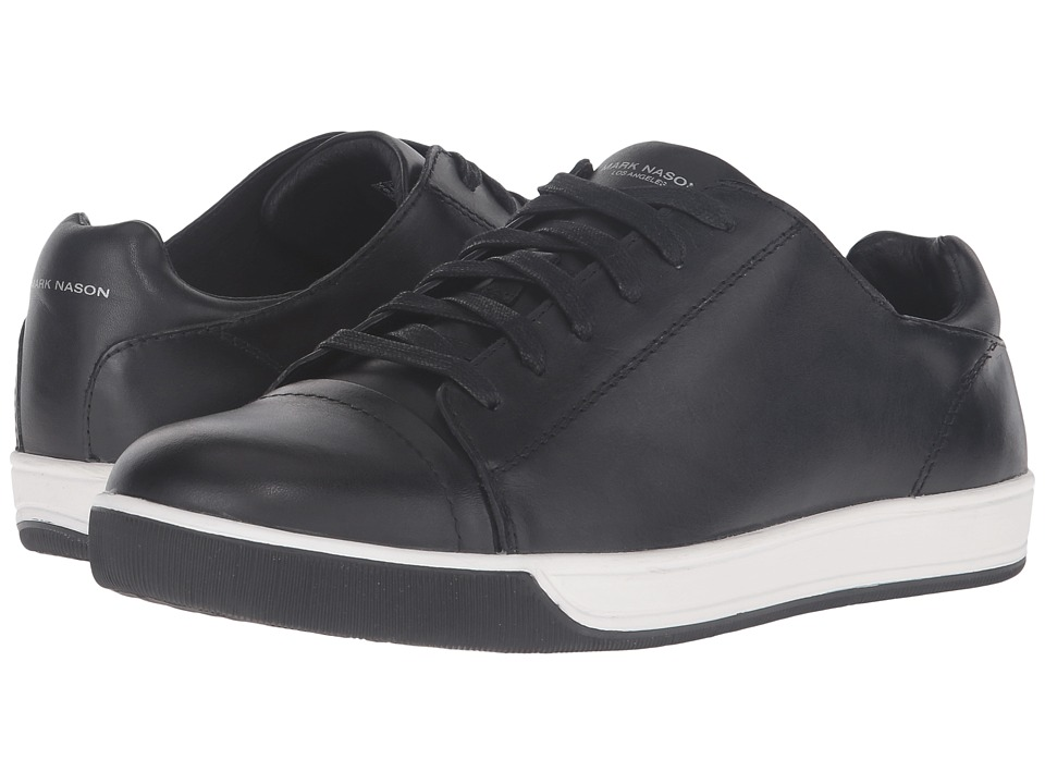 Mark Nason - Shaver (Black Leather) Men's Lace up casual Shoes