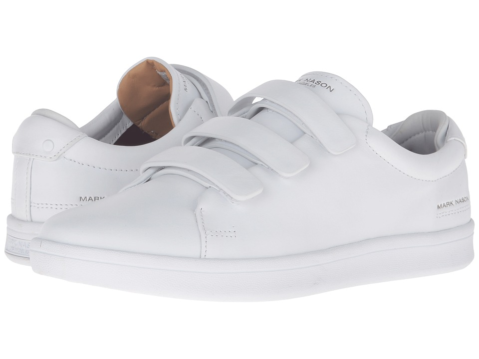 Mark Nason Bunker (White Leather/White Bottom) Men