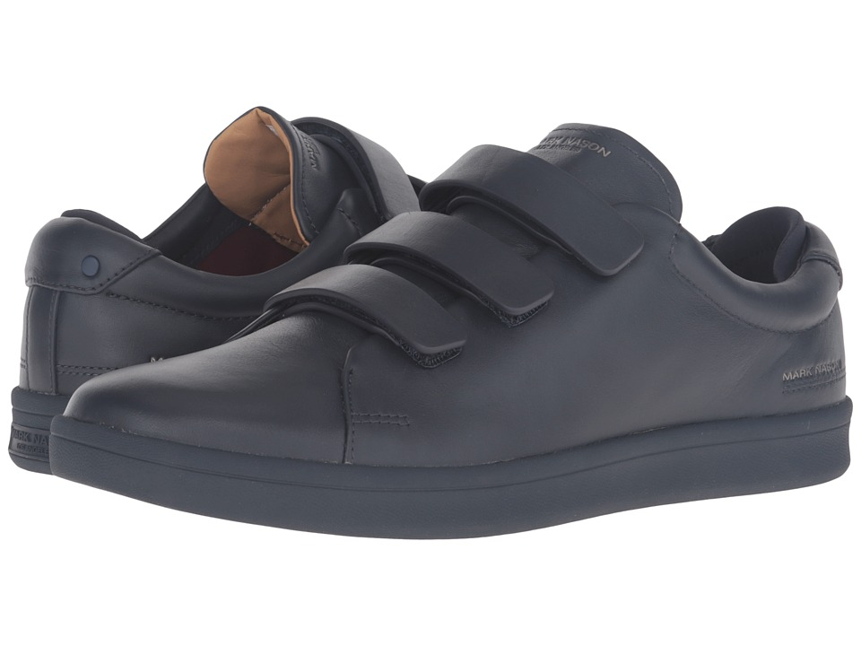 Mark Nason - Bunker (Navy Leather/Navy Bottom) Men's Hook and Loop Shoes