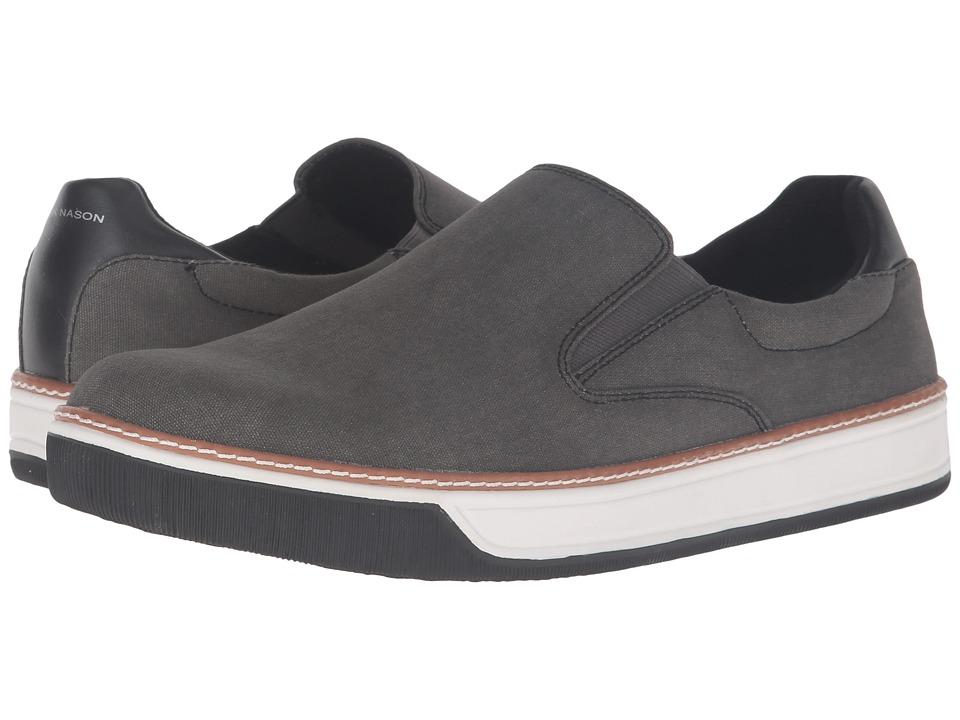 Mark Nason Daleside (Black Canvas) Men's Slip on Shoes