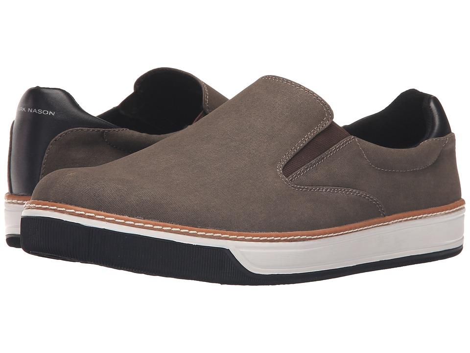 Mark Nason - Daleside (Chocolate Canvas) Men's Slip on Shoes
