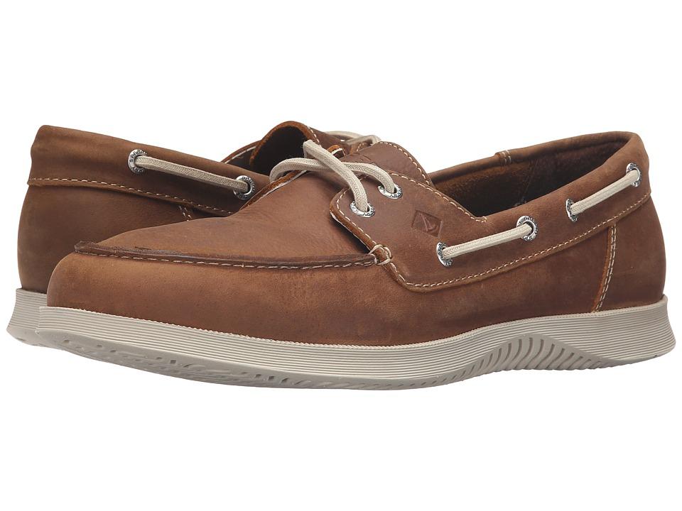 Sperry Top-Sider - Defender 2-Eye (Tan) Men's Shoes