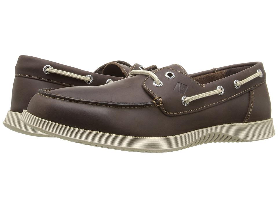 Sperry - Defender 2-Eye (Dark Brown) Men's Shoes