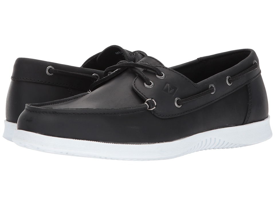 Sperry - Defender 2-Eye (Black) Men's Shoes