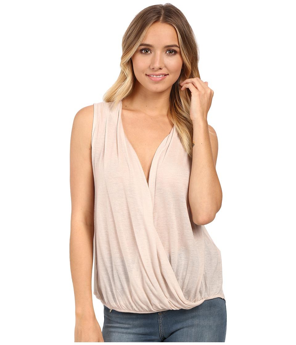 Culture Phit - Mesa Sleeveless Crossed Top (Mauve) Women's Sleeveless