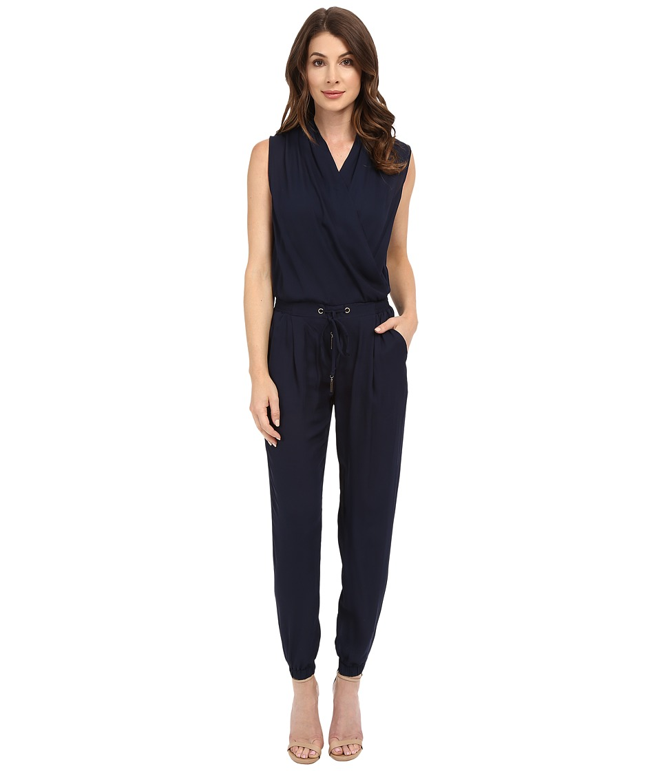 Brigitte Bailey - Rowan Sleeveless Jumpsuit (Navy) Women's Jumpsuit & Rompers One Piece