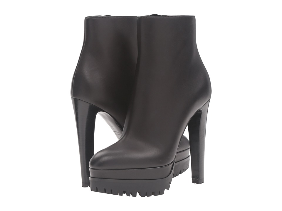Sergio Rossi - Toronto (Gris Noir Leather) Women's Pull-on Boots
