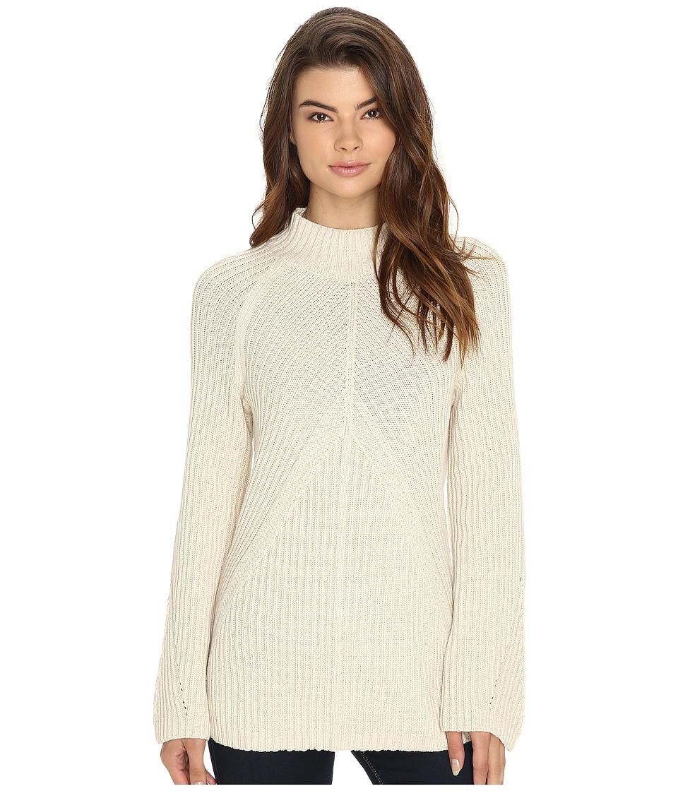 Brigitte Bailey - Bell Sleeve Turtleneck (Cream) Women's Clothing