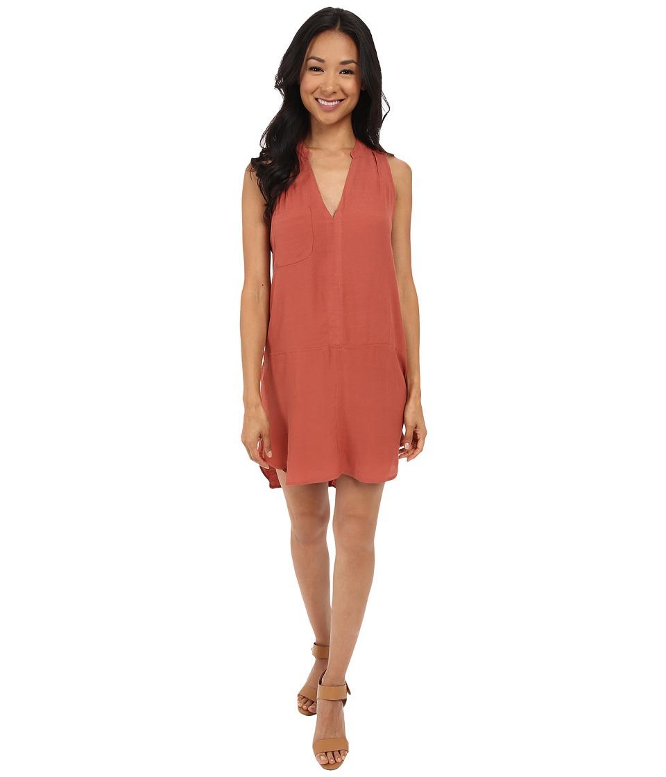 Brigitte Bailey - Briza Sleeveless Woven Dress (Etruscan Red) Women's Dress