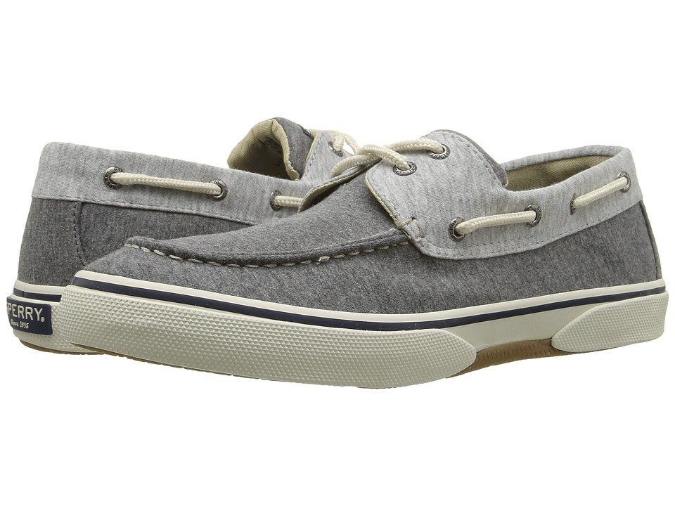 Sperry Top-Sider - Halyard 2-Eye Jersey (Grey/Grey) Men's Shoes