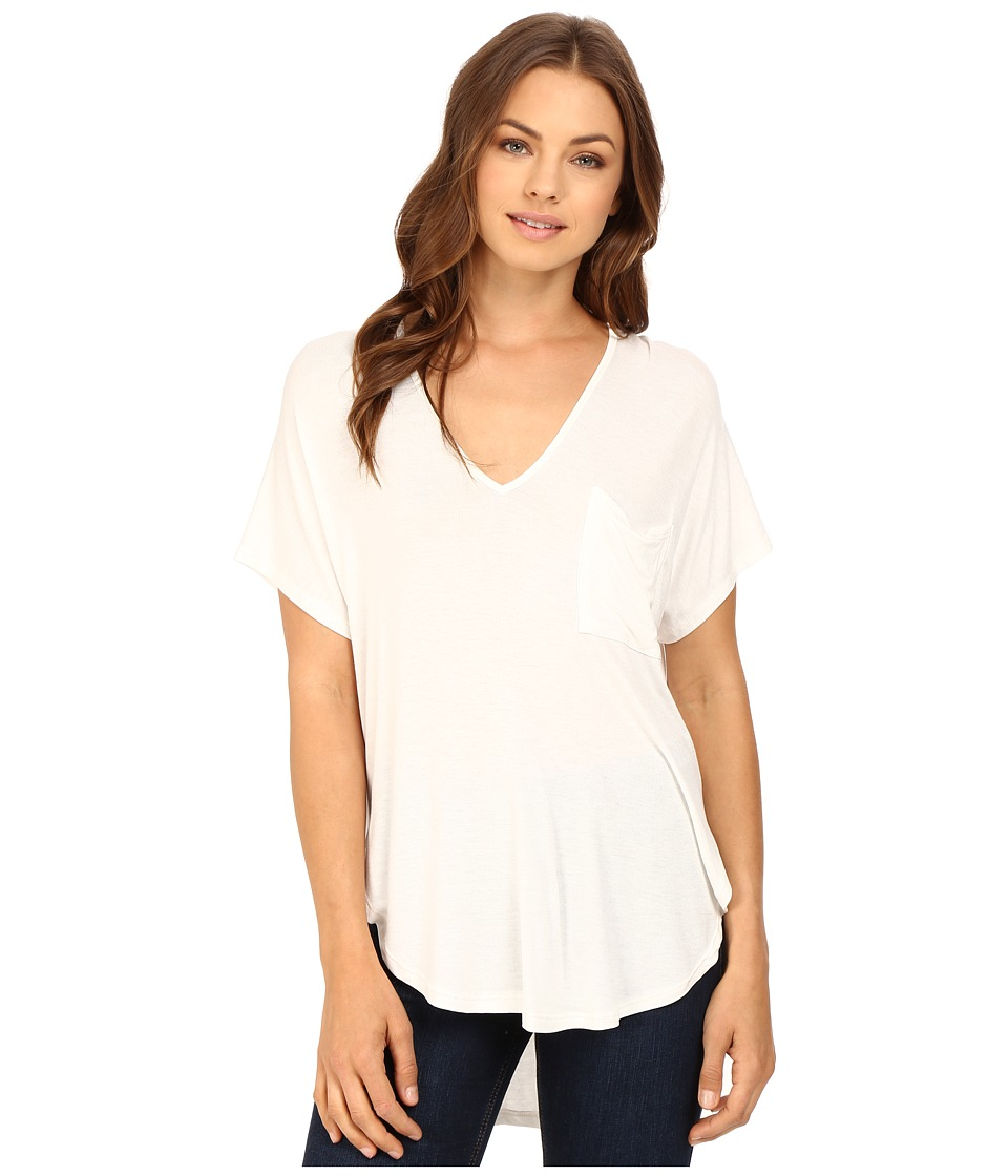 Brigitte Bailey - Isis V-Neck Kimono Knit Top (Off-White) Women's Clothing
