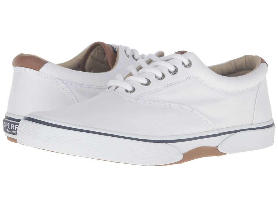 Sperry Top-Sider - Halyard Cvo Saturated (White) Men's Shoes