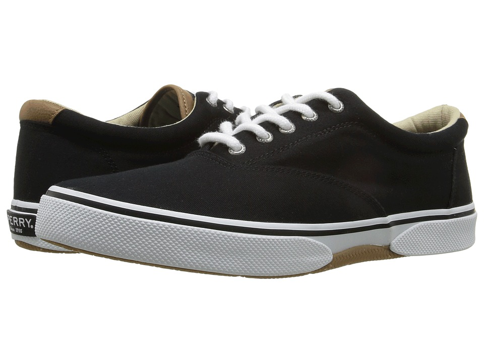 Sperry - Halyard Cvo Saturated (Black) Men's Shoes