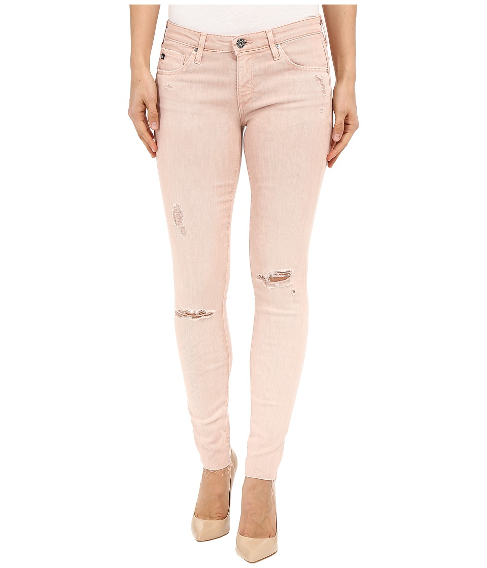 AG Adriano Goldschmied The Leggings Ankle in Sun Faded Distressed Sandy Rose (Sun Faded Distressed Sandy Rose) Women's Casual Pants