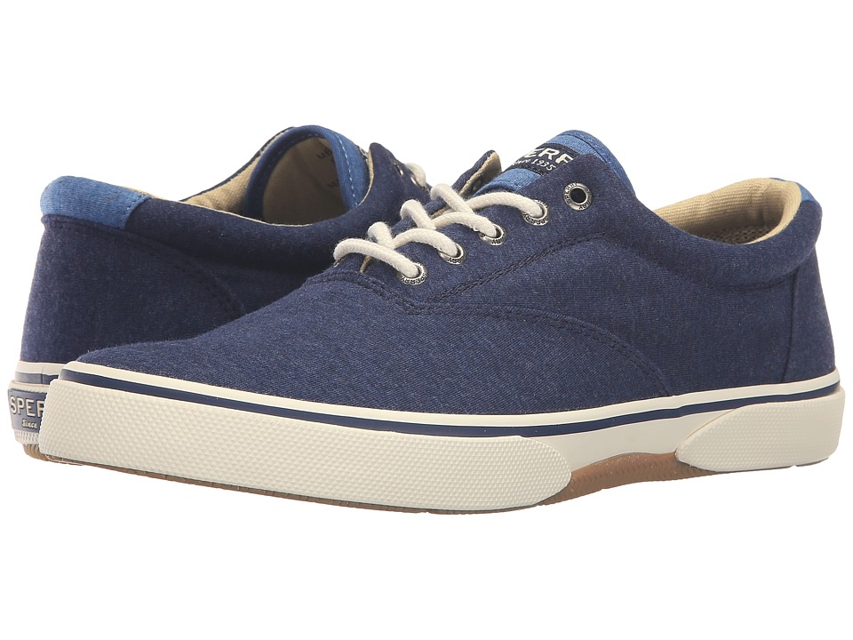 Sperry Top-Sider - Halyard Cvo Jersey (Navy) Men's Shoes