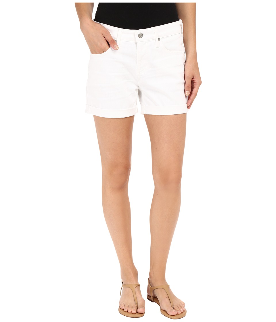 AG Adriano Goldschmied - The Hailey Shorts in 1 Year White (1 Year White) Women's Shorts