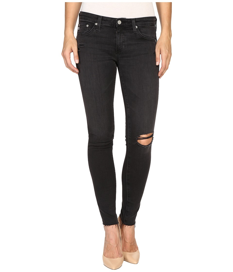 AG Adriano Goldschmied - The Leggings Ankle in 10 Years Well Worn Black (10 Years Well Worn Black) Women's Jeans