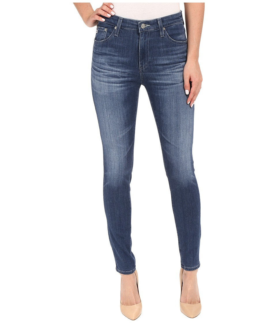AG Adriano Goldschmied - The Farrah Skinny Crop in 13 Years Warm Breeze (13 Years Warm Breeze) Women's Jeans