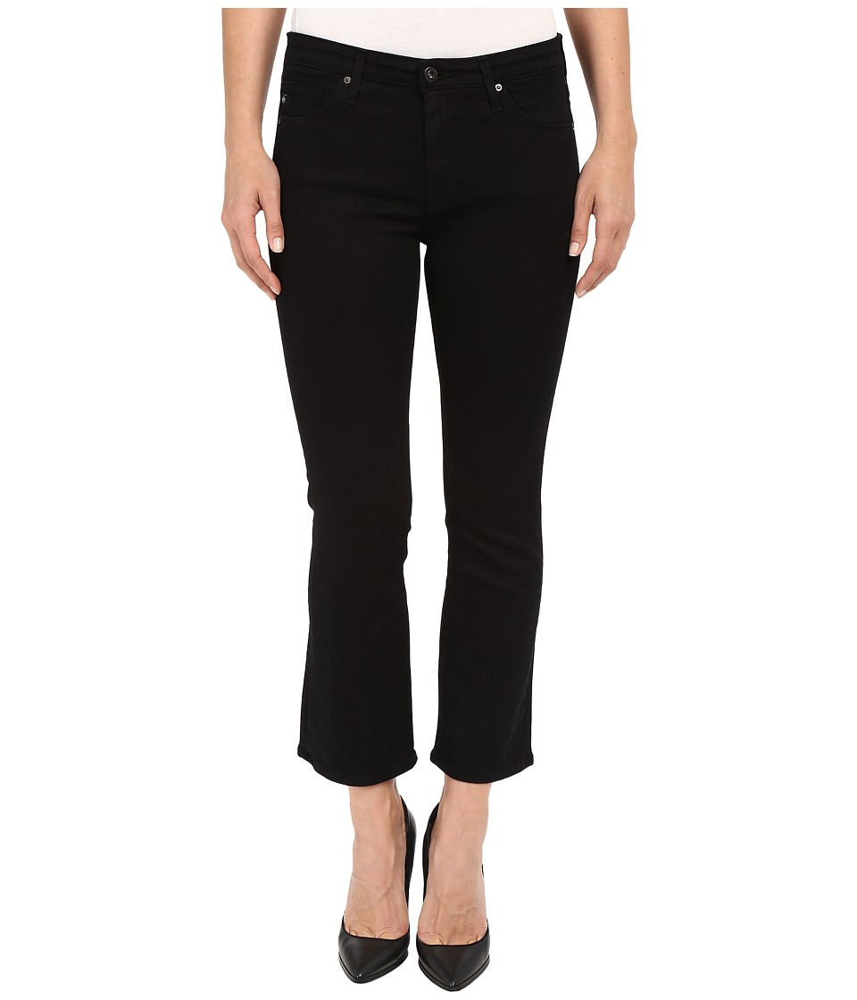AG Adriano Goldschmied - Jodi Crop in Overdye Black (Overdye Black) Women's Jeans