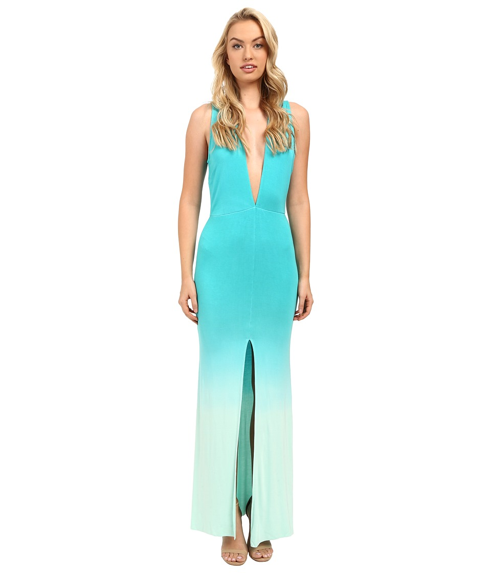 Young Fabulous & Broke - Vanessa Maxi (Turquoise Ombre) Women's Dress