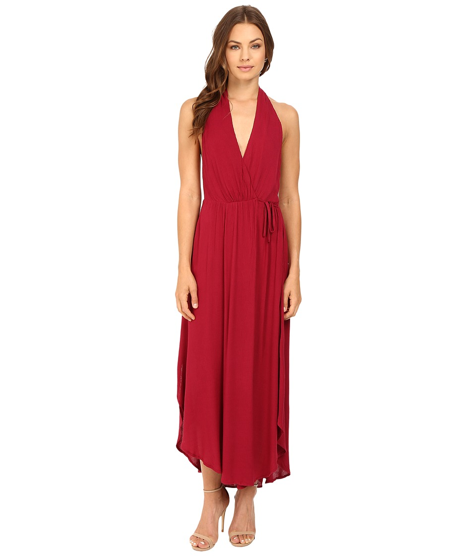 Brigitte Bailey - Verena Halter Maxi Dress (Berry) Women's Dress