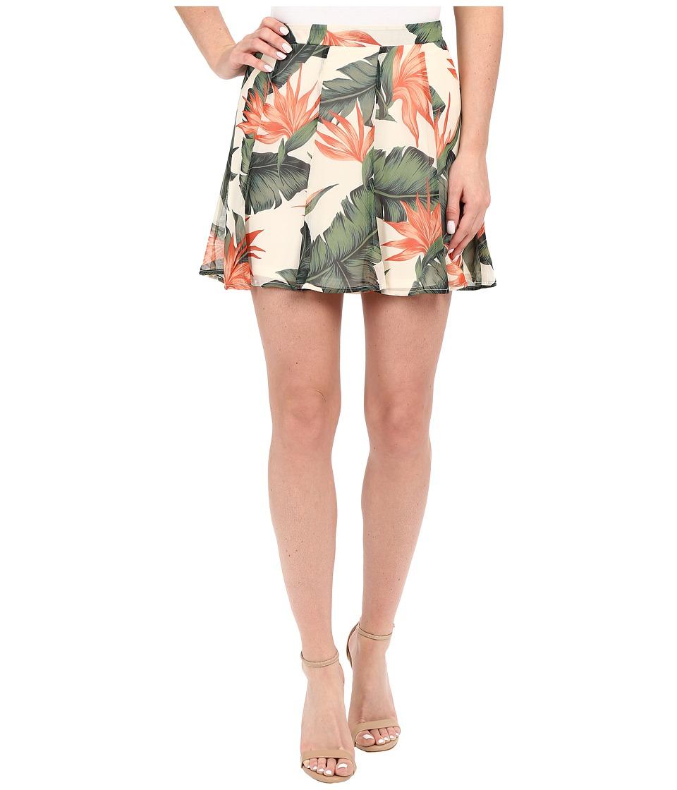 Show Me Your Mumu - Skater Stretch Skirt (Paradise Found) Women's Skirt
