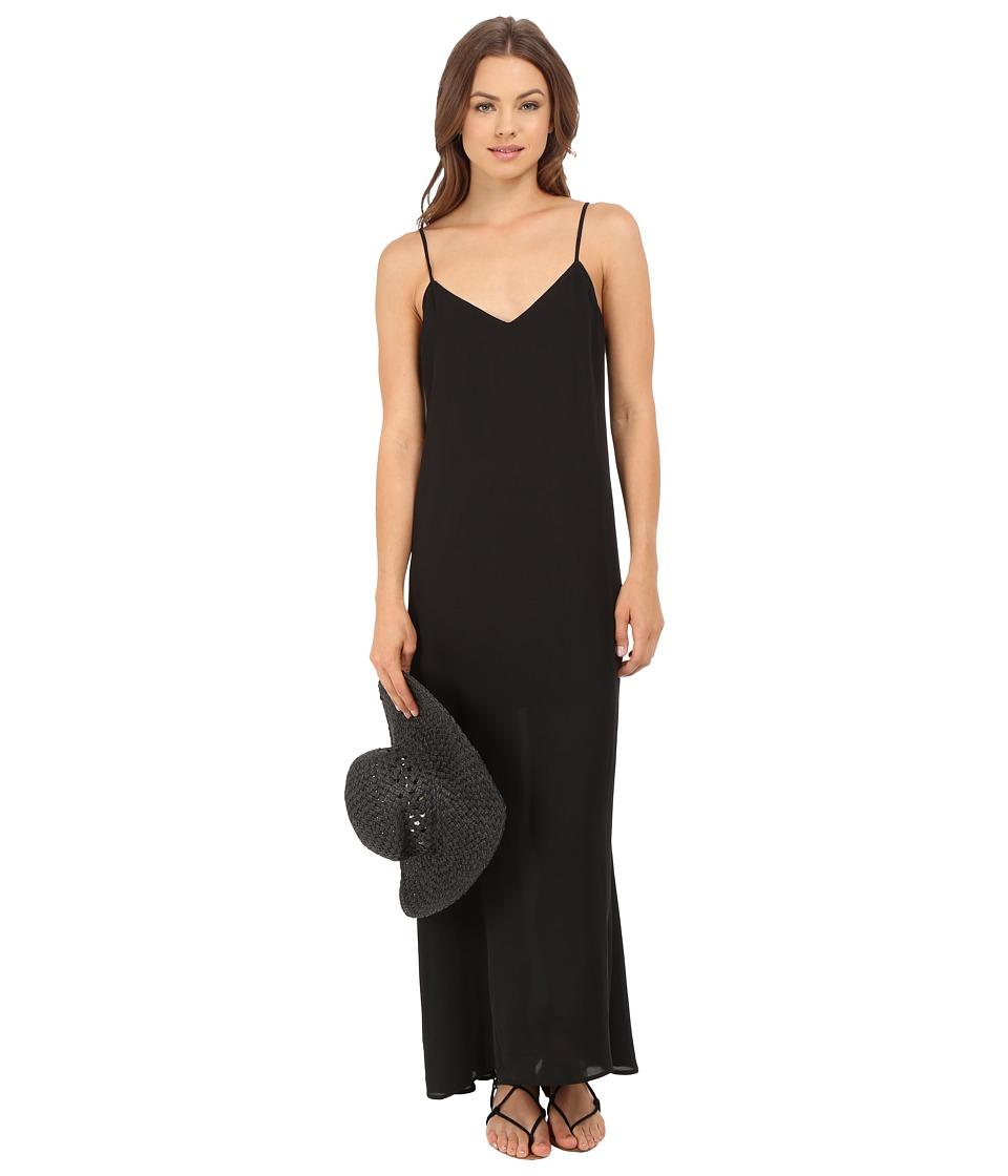 Show Me Your Mumu - Montecito Maxi Dress (Black Crisp) Women's Dress