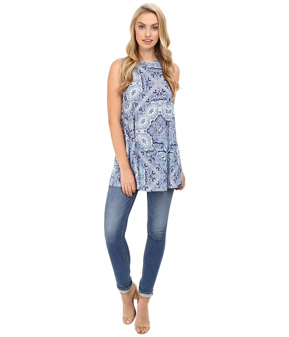 Show Me Your Mumu - Garret Tank Top (Blue's Mus Spandy) Women's Sleeveless