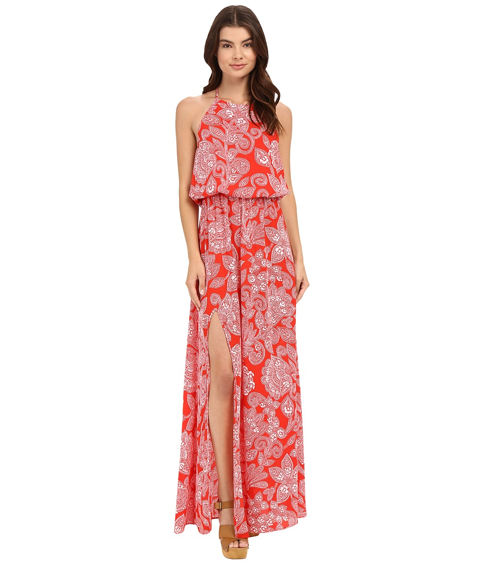 Show Me Your Mumu - Heather Halter Maxi Dress (Aquarius Paisley) Women's Dress