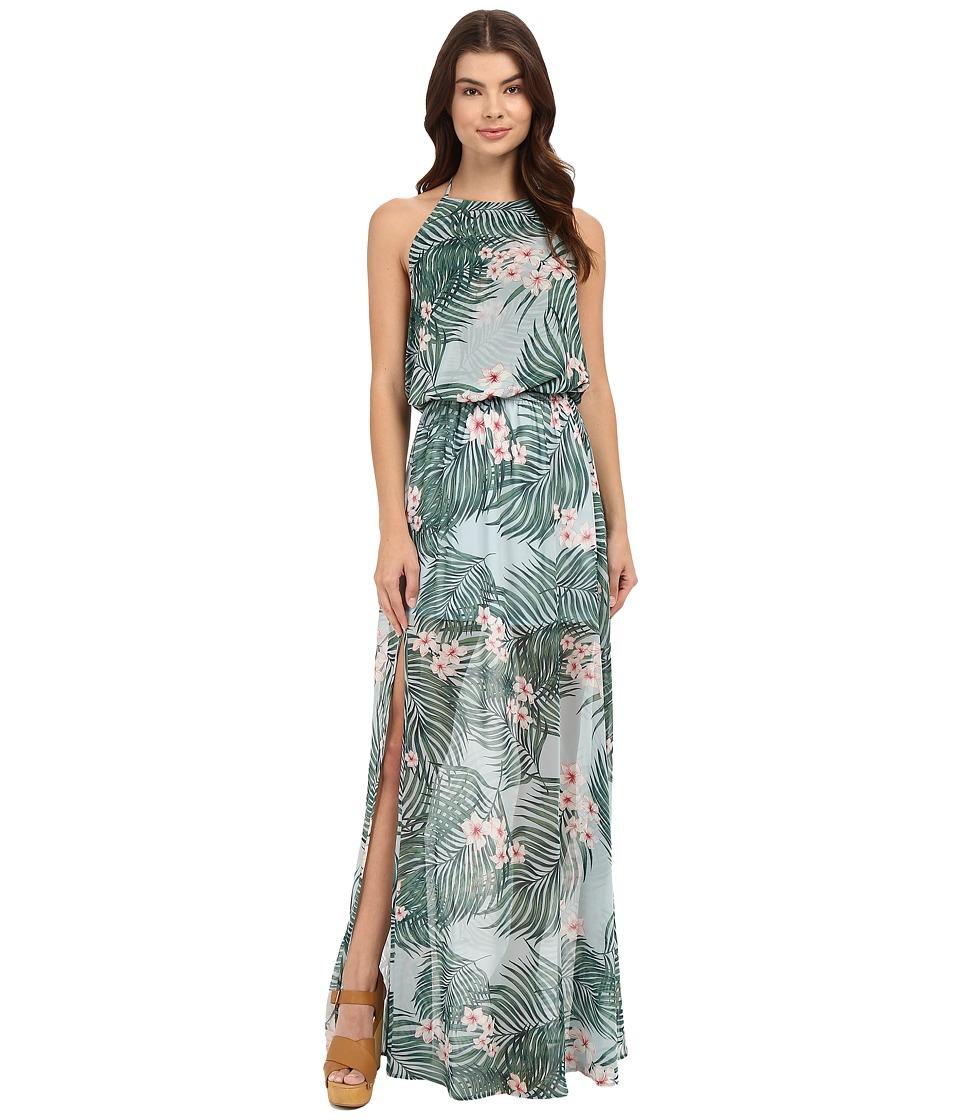 Show Me Your Mumu - Heather Halter Maxi Dress (Hanalei Dream) Women's Dress
