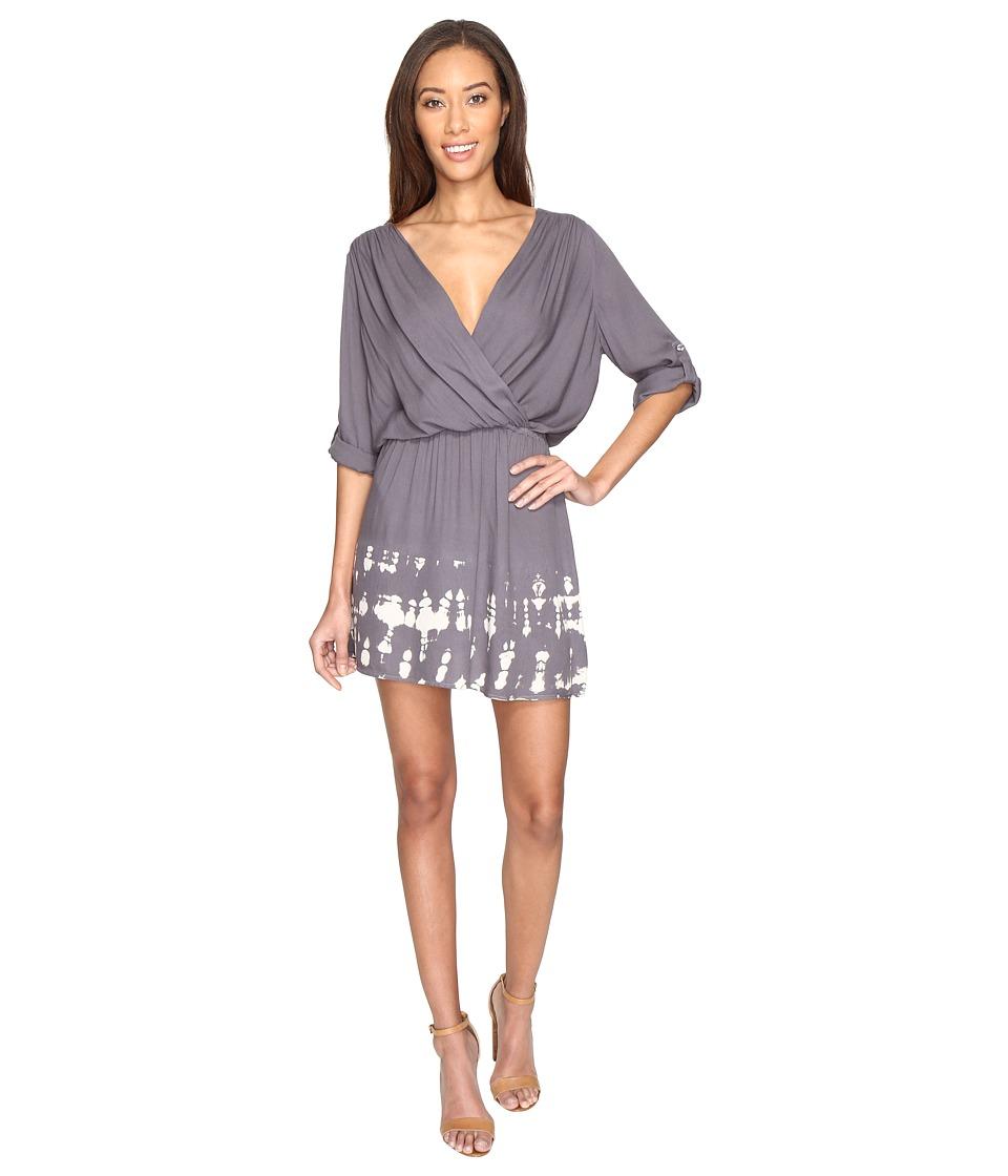Young Fabulous & Broke - April Dress (Charcoal) Women's Dress