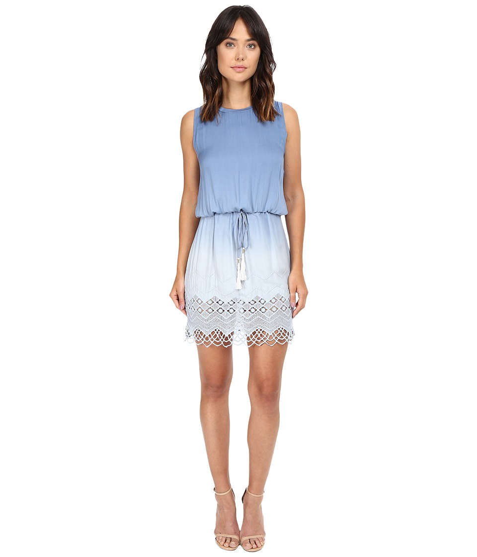 Young Fabulous & Broke - Leah Mini Dress (Chambray Ombre) Women's Dress
