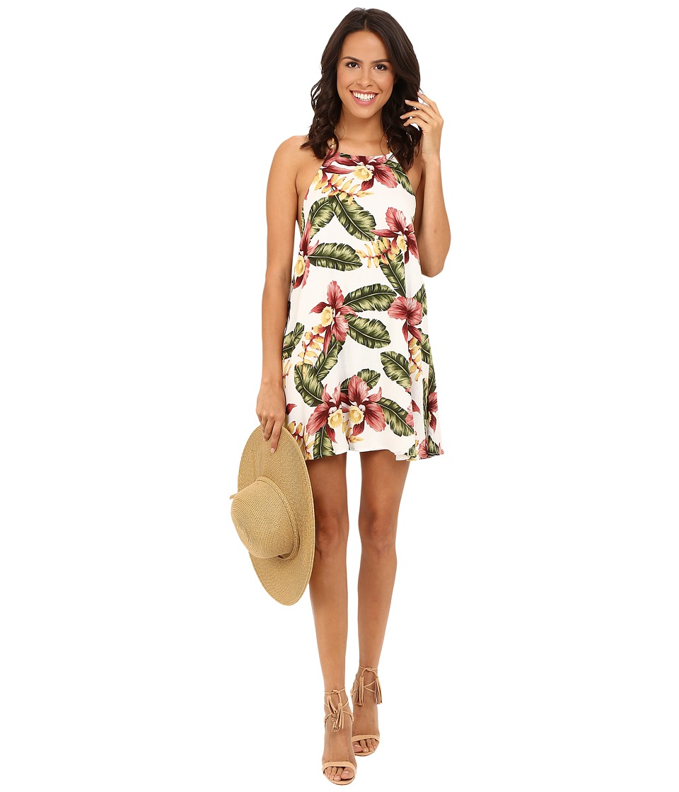 Show Me Your Mumu - Katy Halter Dress (Aloha Blooms) Women's Dress