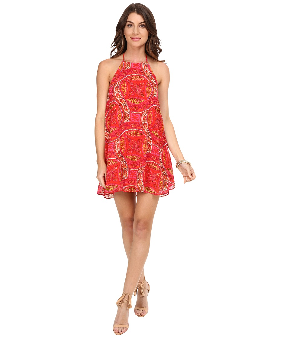 Show Me Your Mumu - Katy Halter Dress (Pink Colada) Women's Dress