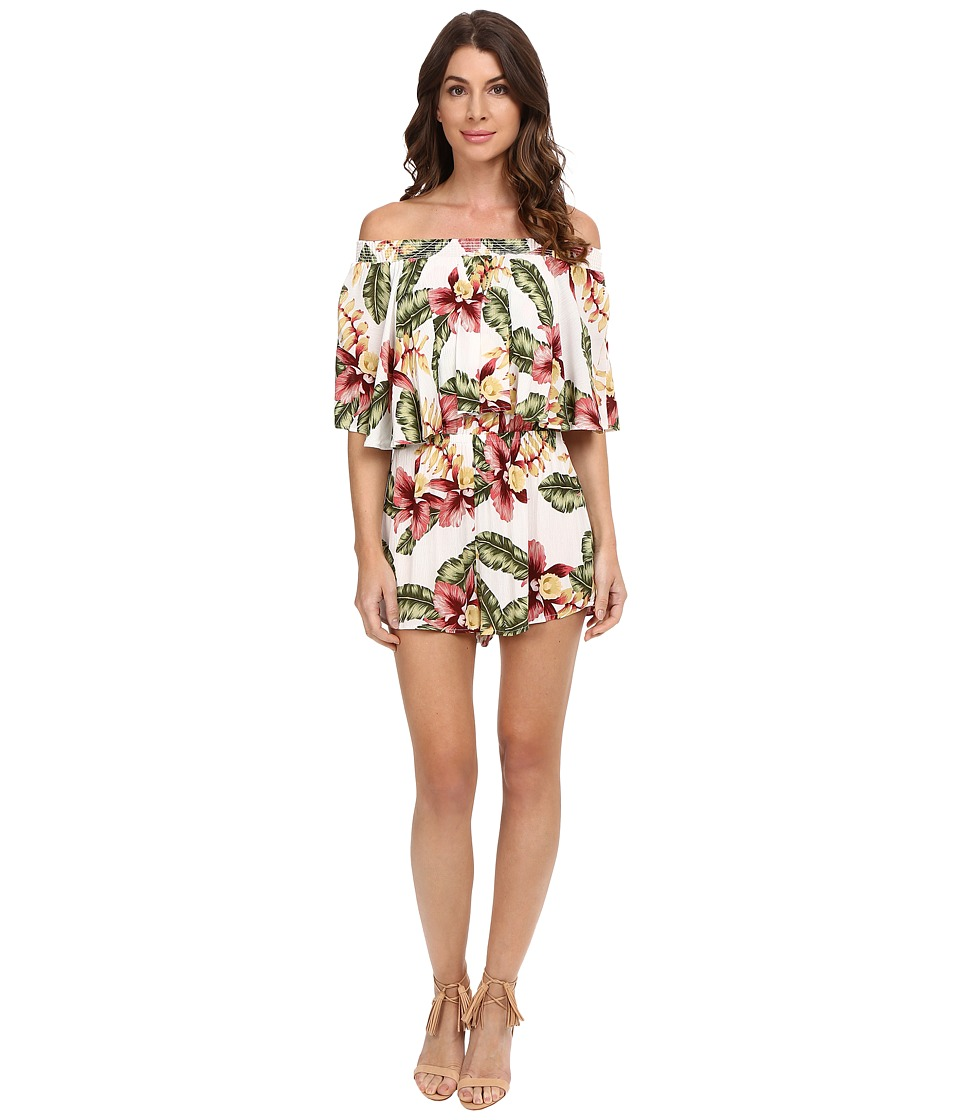 Show Me Your Mumu - Rosarita Romper (Aloha Blooms) Women's Jumpsuit & Rompers One Piece