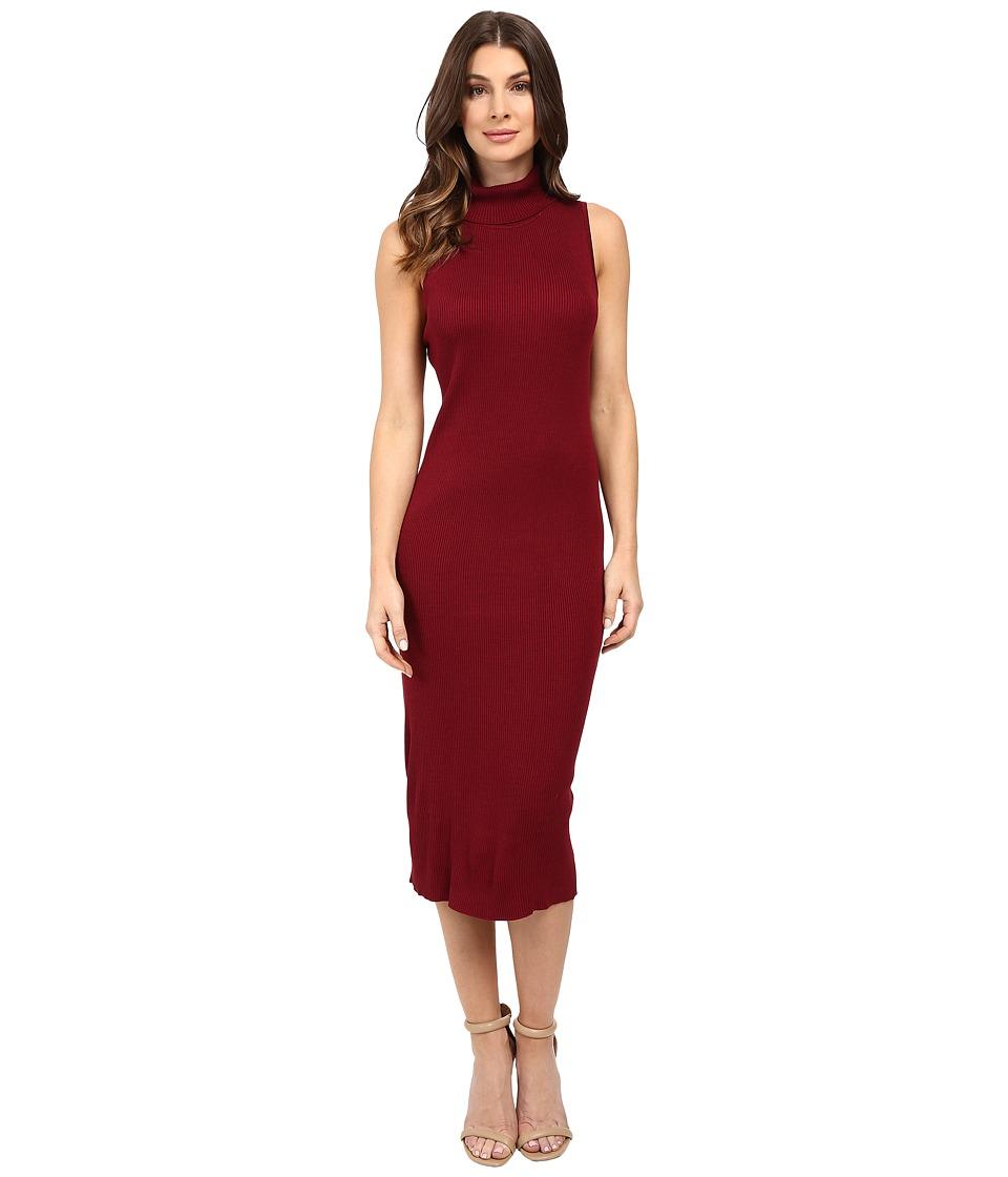 Christin Michaels - Kapona Dress (Burgundy) Women's Dress