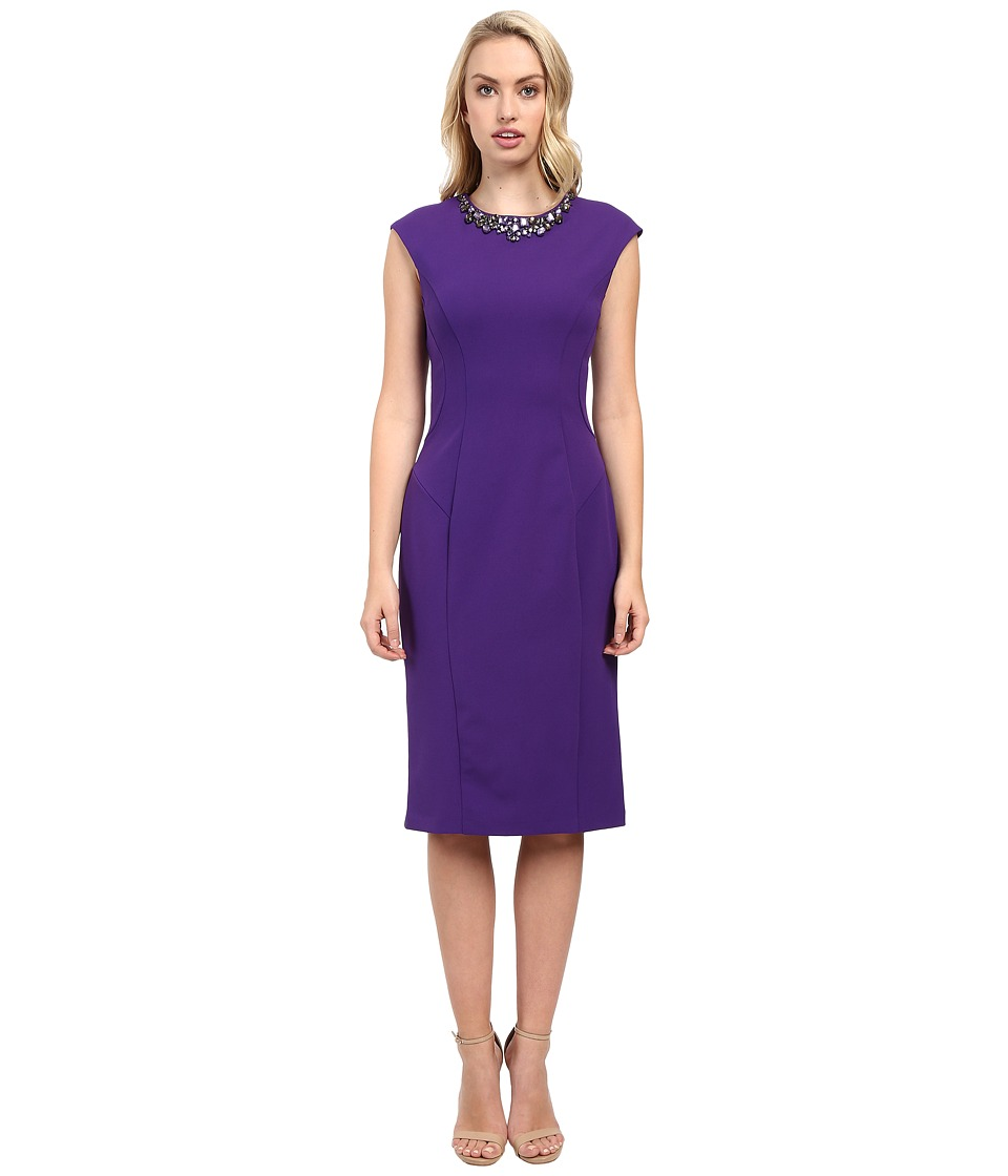 Christin Michaels - Alegra Dress (Purple) Women's Dress