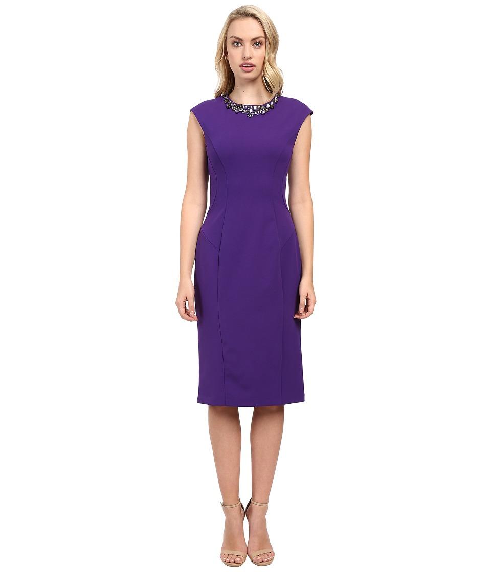 Christin Michaels - Alegra Dress (Purple) Women's Dress