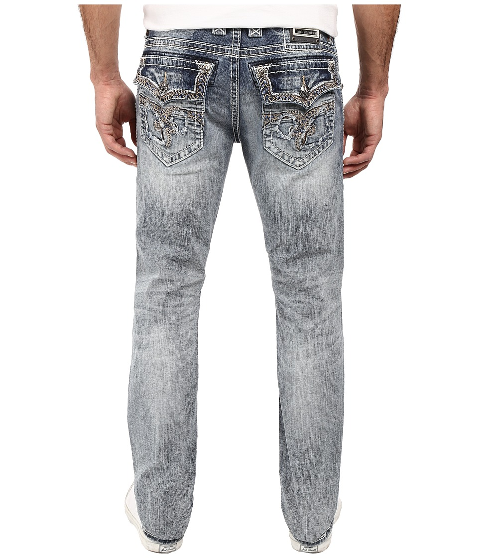 Rock Revival - Saul J203 (Light Blue) Men's Jeans