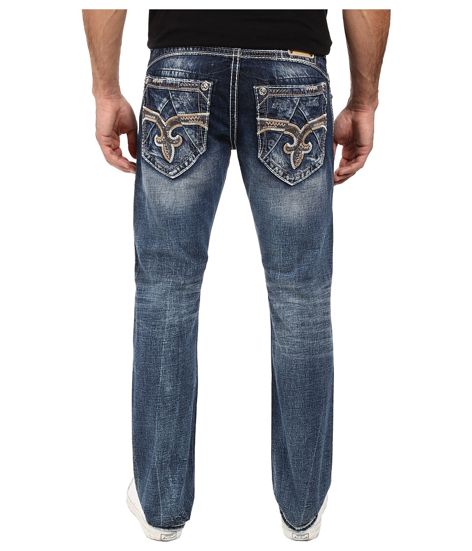 Rock Revival - Vali J202 (Medium Blue) Men's Jeans