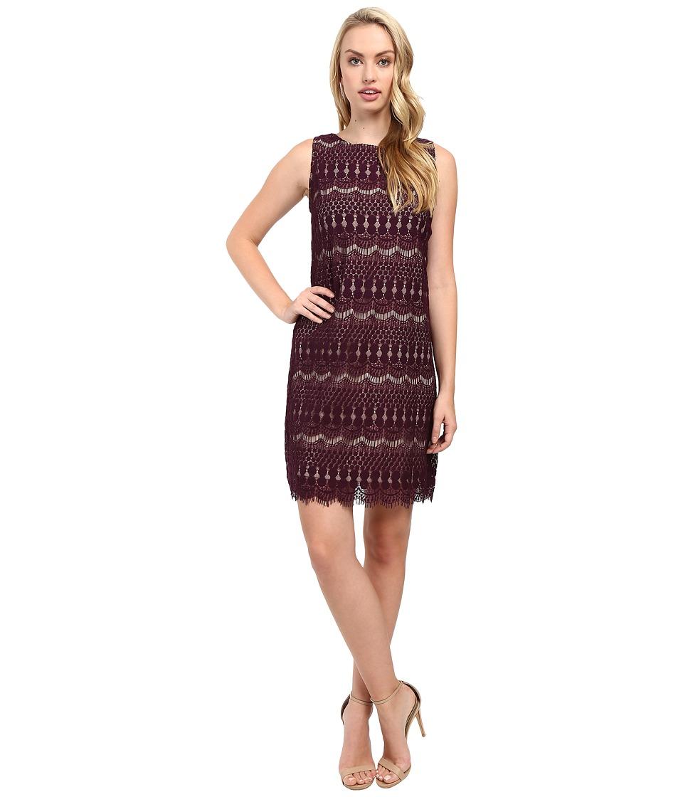 Christin Michaels - Rocco Mia Dress (Purple/Nude) Women's Dress
