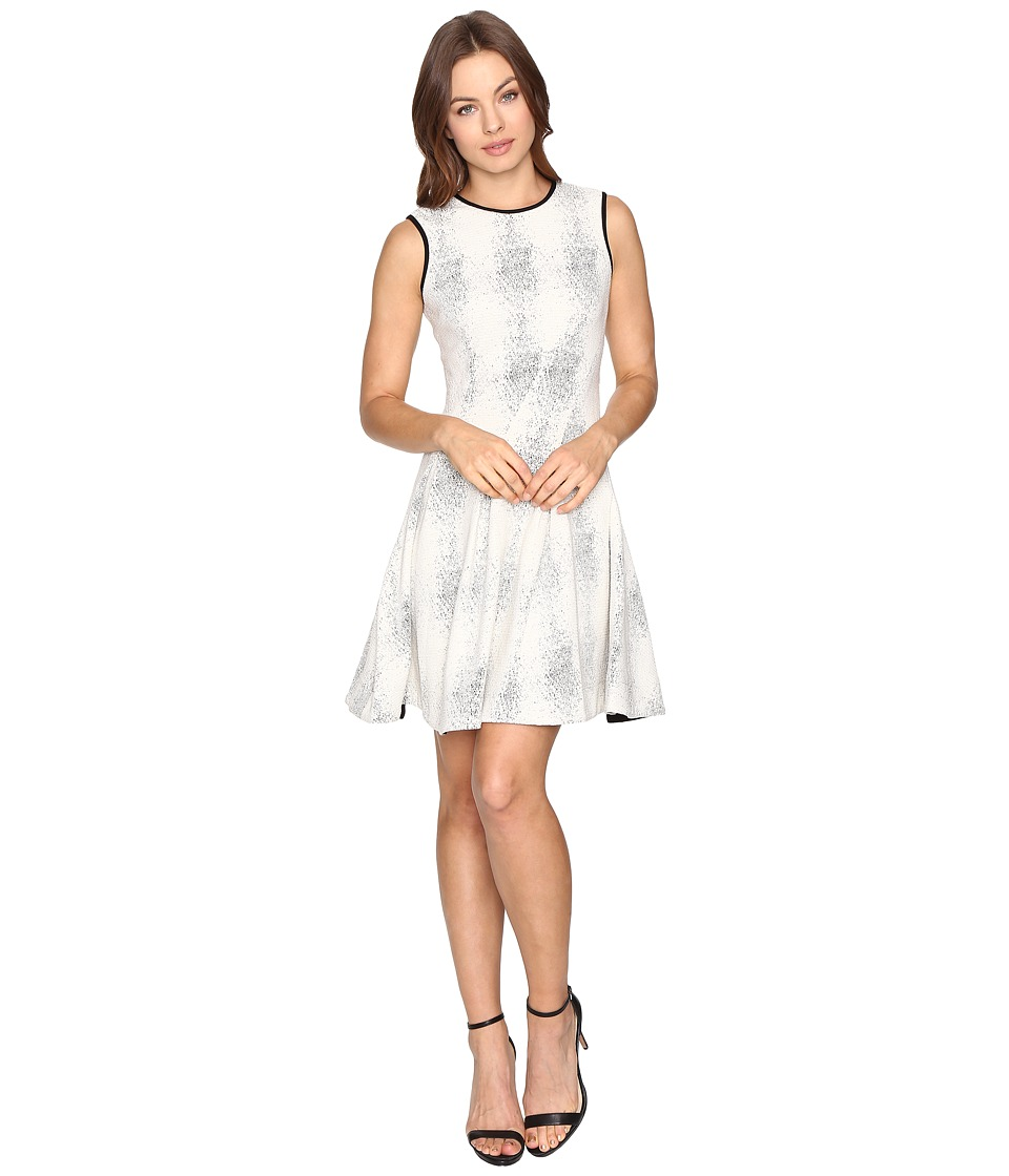 Christin Michaels - Sydney Aslan Dress (Ivory/Black) Women's Dress