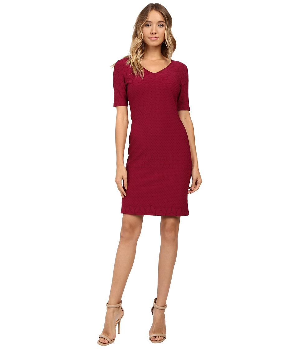Christin Michaels - Aleta Sheath Dress (Passion) Women's Dress