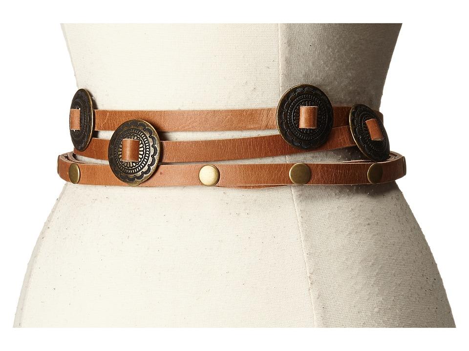 ADA Collection - Sasha Belt (Cognac) Women's Belts